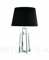 York lampa stołowa chromczarny