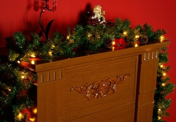 Girlanda świetlna  stroik 35 lampek 270 cm lampki świąteczne joylight