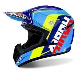 Kask airoh switch sign blue gloss