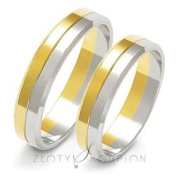 Obrączki ślubne złoty skorpion – wzór a-212