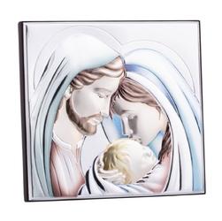 Kolorowy obrazek święta rodzina 7,5 x 7 cm grawer