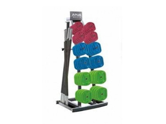 Stojak na zestawy body pump mały - apus sports