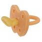 Anatomiczny smoczek kauczukowy, 3-36 msc, korony cantaloupe, hevea