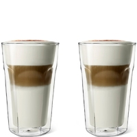 Szklanki podwójne termiczne latte macchiato leopold vienna - 2 sztuki lv01516