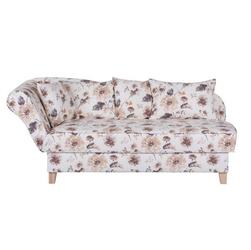 Ennis kremowa sofa w kwiaty
