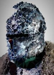 POLYamory - The Bearer of the Curse, Dark Souls - plakat Wymiar do wyboru: 29,7x42 cm