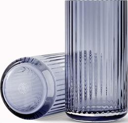 Wazon Lyngby szklany Blue 20 cm