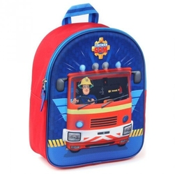Plecak strażak sam plecaczek fireman sam 3d