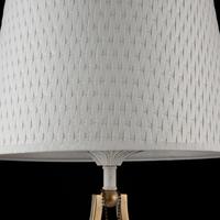 Lampka stołowa z plecionym kloszem enna maytoni classic arm548-11-wg