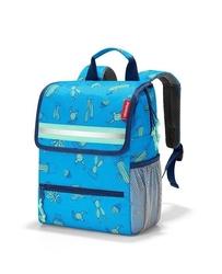 Plecak backpack kids cactus blue