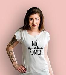 Mój romeo ksz t-shirt damski biały xl