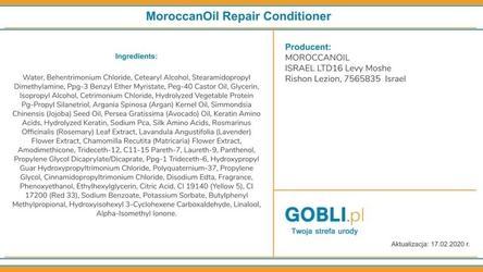 Moroccanoil repair odżywka odbudowująca włosy suche 1000ml