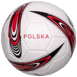 Piłka nożna polska 5 biało-czerwona