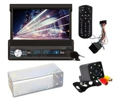 Radio samochodowe vordon ac-5201 kent 1din + kamera cofania