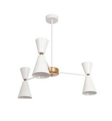 Lampa wisząca cono 3 biały ø62cm