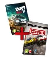 Koch zestaw gier pc racing pack grid  dirt rally 2.0