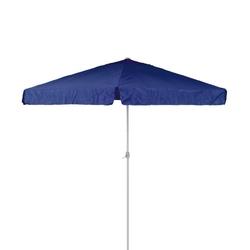 Parasol ogrodowy średnica 4m z korbką, niebieski