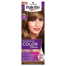 Palette intensive color creme, farba do włosów, n6 średni blond