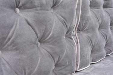 Sofa rozkładana mangusta l pikowana glamour