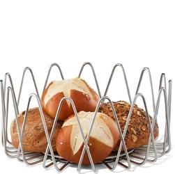 Stalowy koszyk na pieczywo i owoce bivio zack 30654