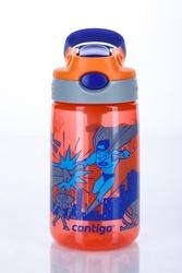 Kubek dziecięcy Contigo Gizmo Flip 420 ml - nectarine superhero - Czerwony