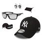 Zestaw okulary przeciwsłoneczne arctica + czapka z daszkiem new era ny czarna - 32096