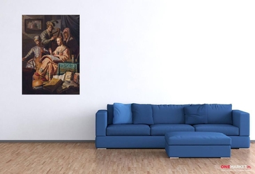 koncert w strojach biblijnych rembrandt van rijn ; obraz - reprodukcja