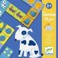 Gra domino - zwierzęta 28 elem.