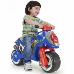 Injusa jeździk motor pchacz avengers szerokie koła