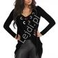 Czarna narzuta - bluzka sznurowana 102