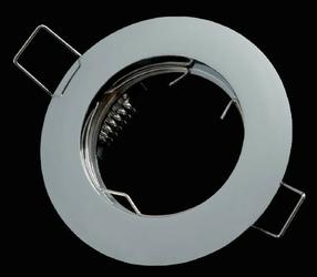 Oprawa okrągła stała, odlew - chrom
