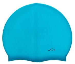 Czepek silikonowy vivo b-1306 jasno niebieski