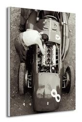 Ferrari mechanic, french gp, 1954 - obraz na płótnie