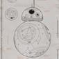 Star Wars The Force Awakens BB-8 - plakat