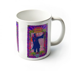 Janis joplin purple masse - kubek