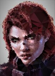 Polyamory - jane shepard, mass effect - plakat wymiar do wyboru: 21x29,7 cm