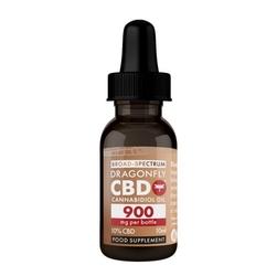 Olej kanabinoidowy o stężeniu cbd 10 - 10 ml - 900 mg