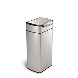 Simplehuman - kosz na śmieci touch-bar 30l - stal fpp