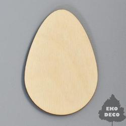 Drewniany magnes - jajko - JAJK