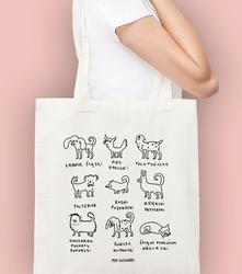 Ładnik śląski torba na zakupy naturalna universal