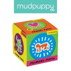 Mudpuppy gra mini memory keith haring