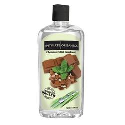 Sexshop - smakowy żel nawilżający - intimate organics chocolate mint lube 120 ml czekolada i mięta - online