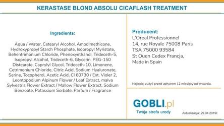 Kerastase blond absolu cicaflash odżywka do włosów rozjaśnianych  250ml