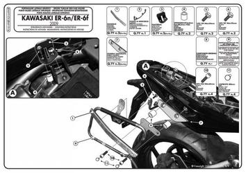 Givi plx449kit zestaw montażowy plx449 bez stelaża