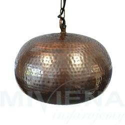 Hammered lampa wisząca 1 antyczny brąz 32
