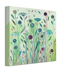 Zielona łąka - obraz na płótnie