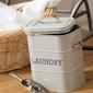 Pojemnik na proszek do prania kitchen craft kremowy lnlaundrycre