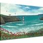The Lighthouse at Poppy Bay - obraz na płótnie