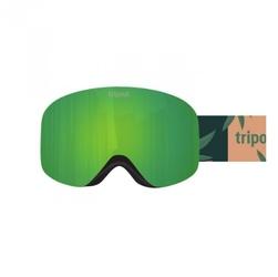 Gogle tripout racer smoke camo green 2020
