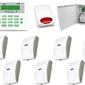 Zestaw alarmowy satel ca-10 lcd, gsm, 7 czujek, sygnalizator zewnętrzny - szybka dostawa lub możliwość odbioru w 39 miastach